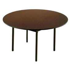 Customizable 720 Series Multi Purpose Round Deluxe Hotel Banquet/Training Table with Plywood Core Top - 60