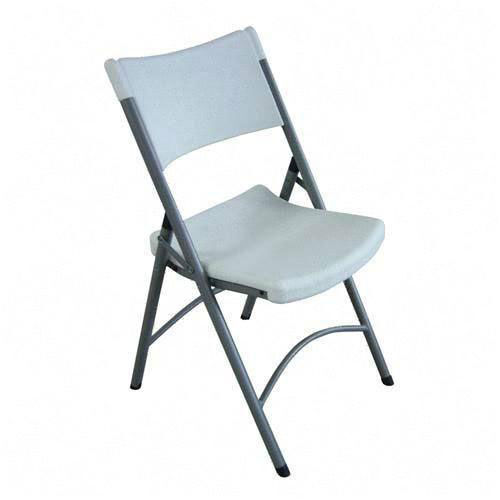 Our Lorell Blow Molded Folding Chairs - Set of 4 is on sale now.