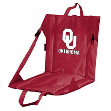 University of Oklahoma Team Logo Bi-Fold Stadium Seat