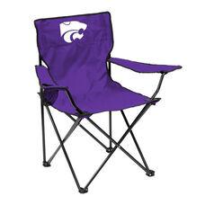 Kansas State University Team Logo Folding Quad Chair