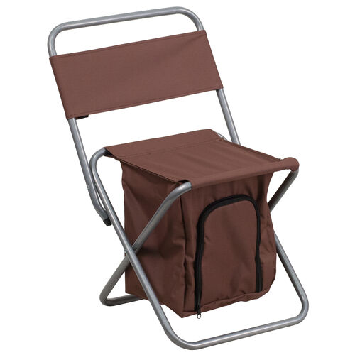 Our Folding Camping Chair with Insulated Storage is on sale now.