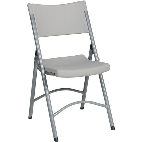 Our Work Smart PC-03 Blow-Molded Resin Folding Chair - Set of 4 is on sale now.