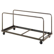 Customizable Edge Load Table Truck for Standard Rectangle or Square Tables - 30''W x 72''D x 30''H