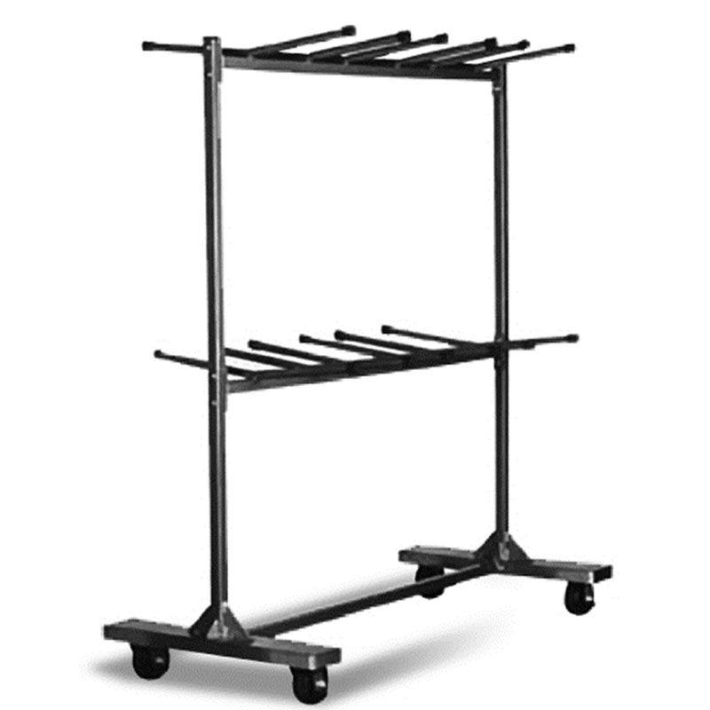 Hanging Folding Chair Cart With 96 Chair Capacity   90u0027u0027L X 31.25u0027u0027W