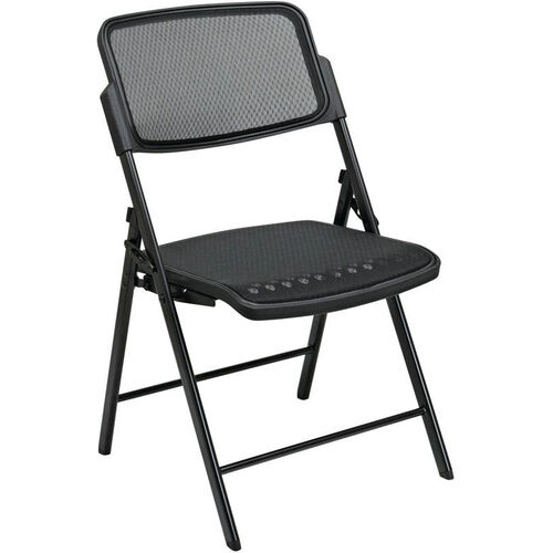 Our Pro-Line II Deluxe ProGrid® Mesh Seat and Back Folding Chair with 400 lb Weight Capacity - Set of 2 - Black is on sale now.