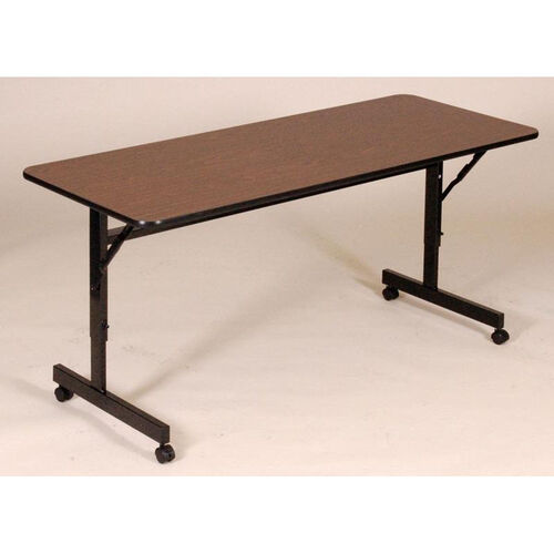Our Adjustable Height Rectangular EconoLine Melamine Flip Top Table - 24