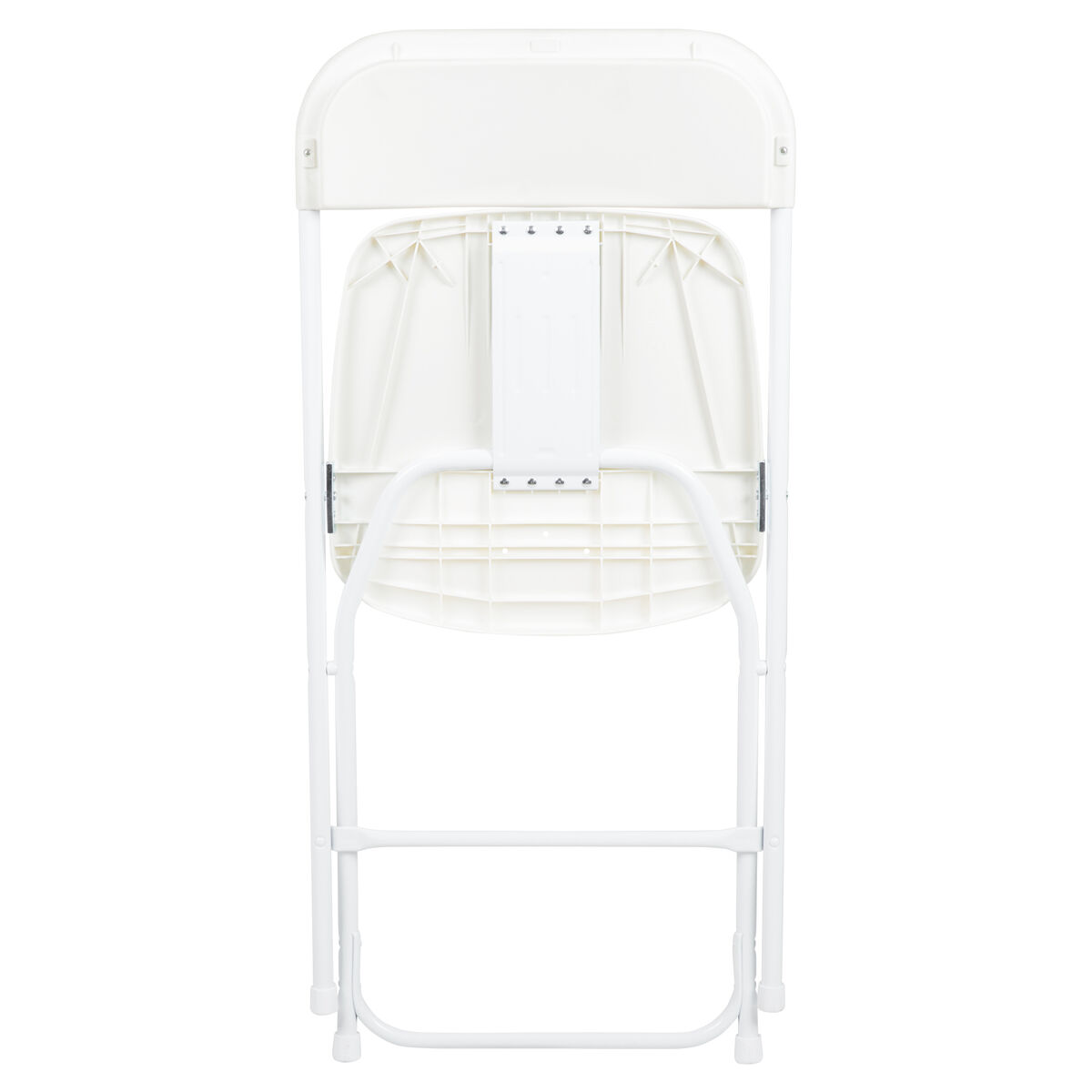 Pleasing Hercules Series 650 Lb Capacity Premium White Plastic Folding Chair Gamerscity Chair Design For Home Gamerscityorg