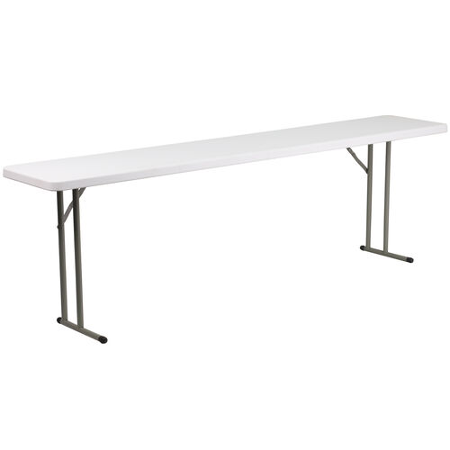 Our 8-Foot Granite White Plastic Folding Training Table is on sale now.