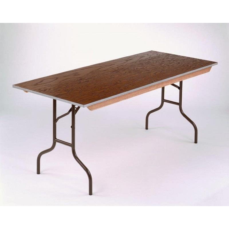 ... Our E Series Long Rectangular Plywood Core Folding Table   30u0027u0027W X 96