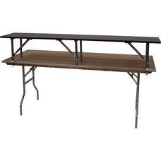 Standard Series Rectangular Riser with Plywood Top - 96