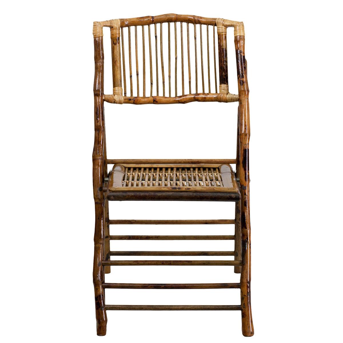 Bamboo Folding Chair X 62111 Bam Gg Foldingchairs4less Com