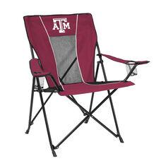 Texas A&M University Team Logo Game Time Folding Chair