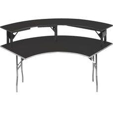 Standard Series Crescent Riser with Laminate Top - 15