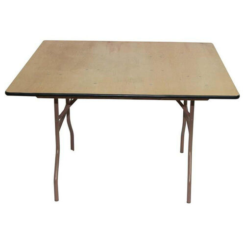 Rental Elite Series Square Folding Table with Non Marring Floor Glides