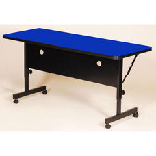 Adjustable Height Rectangular Deluxe High-Pressure Flip Top Table - 24