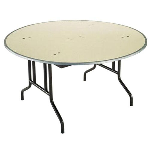 Our Customizable 810 Series Multi Purpose Round Deluxe Hotel Banquet/Training Table with Plywood Core Top - 72