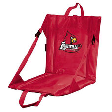 University of Louisville Team Logo Bi-Fold Stadium Seat