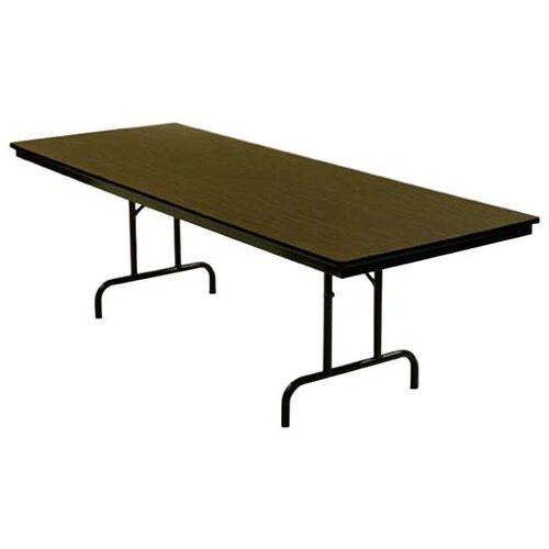Customizable 800 Series Multi Purpose Rectangular Deluxe Hotel Banquet/Training Table with Plywood Core Top - 30
