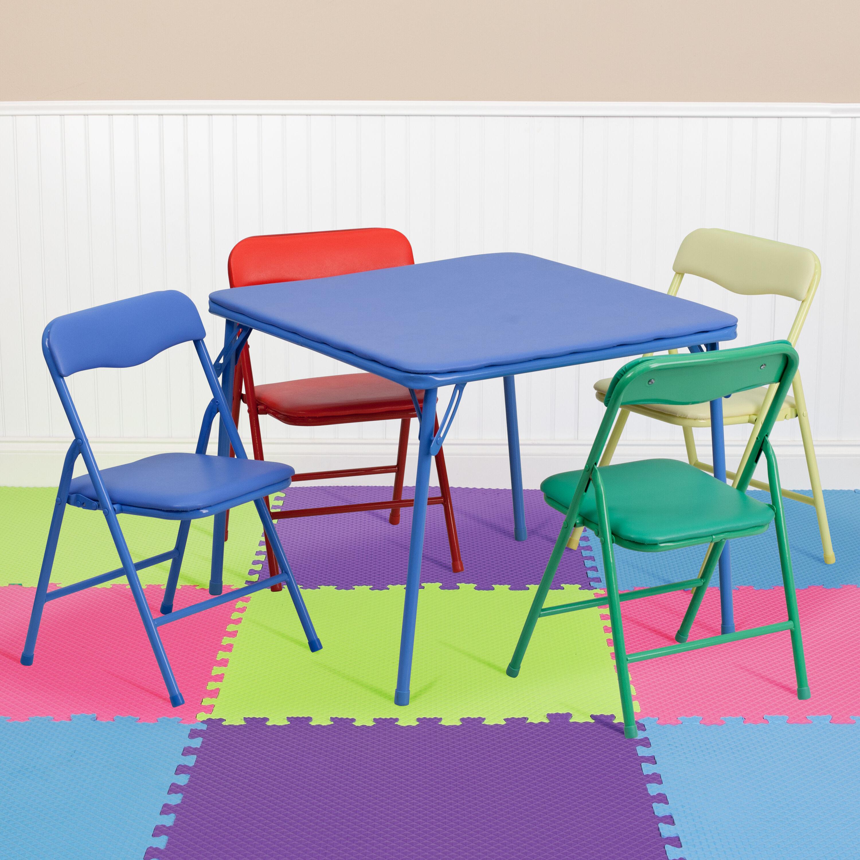 5 pc kids folding table set jb 9 kid gg foldingchairs4less com