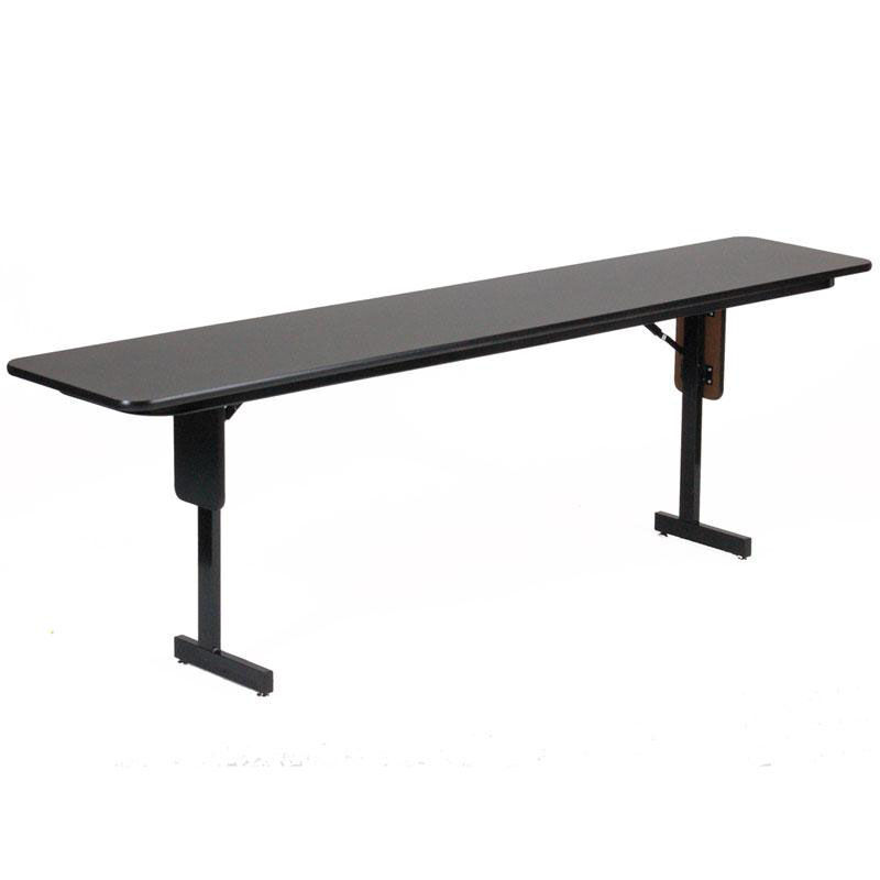 ... Our Folding Adjustable Height Panel Leg Rectangular Seminar And  Training Table   18u0027u0027D