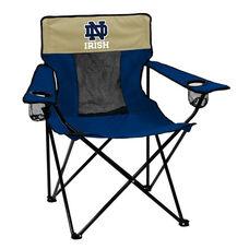 University of Notre Dame Team Logo Elite Folding Chair