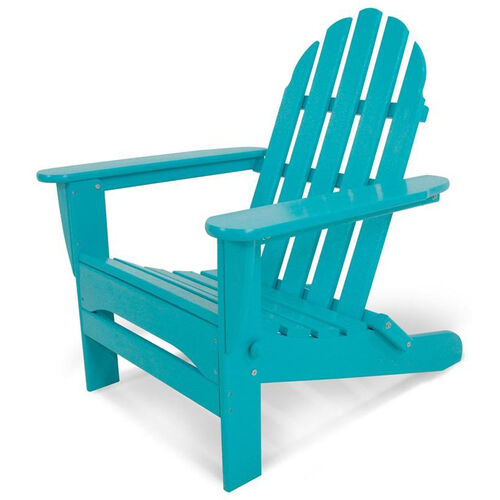 Our POLYWOOD® Classic Folding Adirondack - Vibrant Aruba is on sale now.