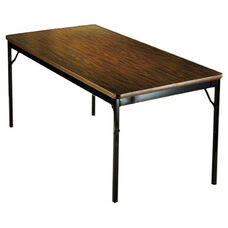 Customizable Classic Fixed Height Folding Training Table - 36''W x 72''D x 30''H