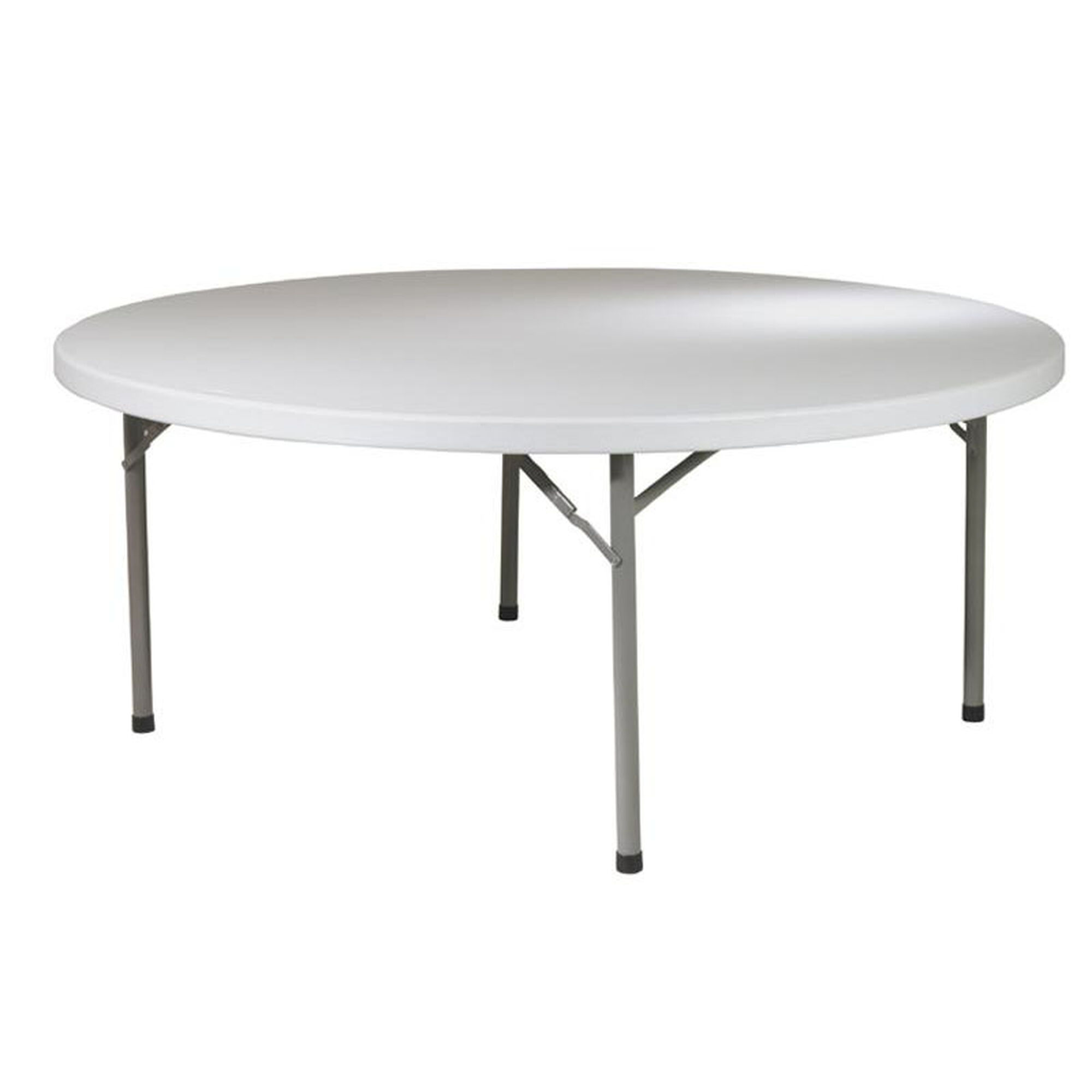 Round Table Seating Capacity Work Smart Resin Folding Table Bt71q Foldingchairs4less Com