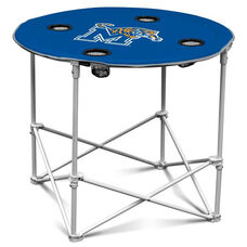 University of Memphis Team Logo Round Folding Table