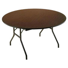 Customizable Economy 130 Series Round Fixed Height Table - 48