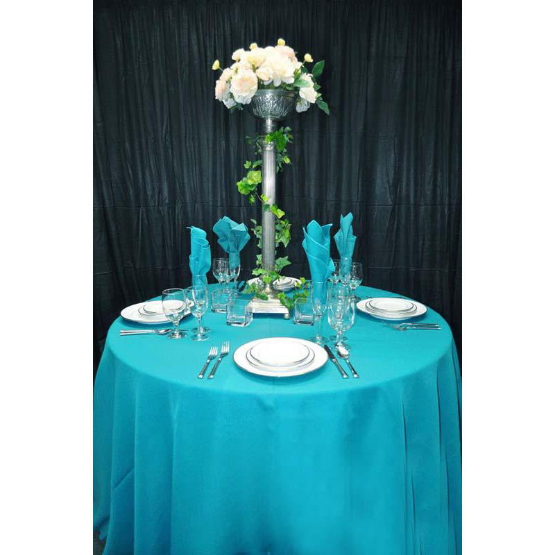 ... Our 60u0027u0027 X 108u0027u0027 Renaissance Stain Resistant Series Rectangular  Tablecloth   Turquoise