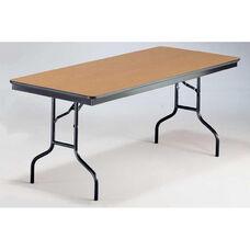 EF Series Long Rectangular Plywood Core Folding Table - 30