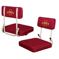 Iowa State University Team Logo Hard Back Stadium Seat