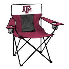 Texas A&M University Team Logo Elite Folding Chair