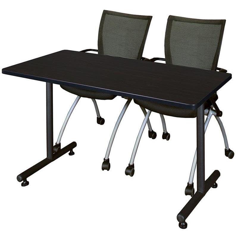... Our Kobe 48u0027u0027W X 24u0027u0027D Laminate Training Table With 2 ...