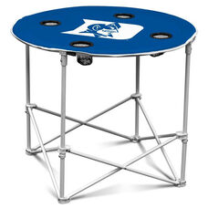 Duke University Team Logo Round Folding Table