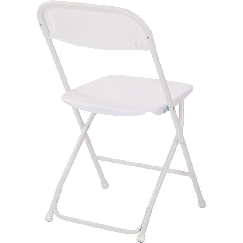 ... Our Work Smart Plastic Folding Chair   Set Of 4   White Is On Sale Now  ...