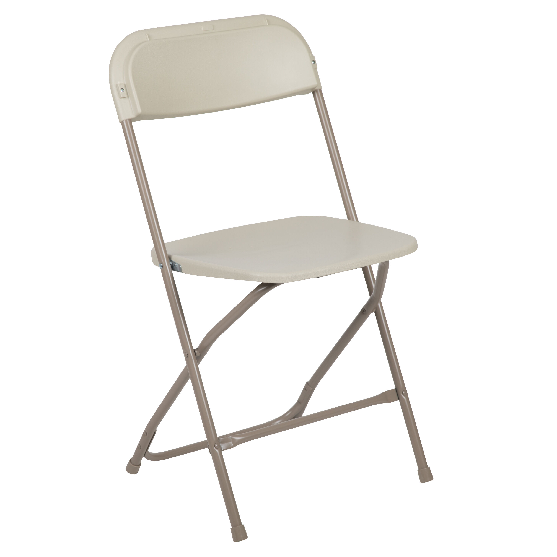 sc 1 st  Folding Chairs 4 Less & Beige Plastic Folding Chair LE-L-3-BEIGE-GG | FoldingChairs4Less.com