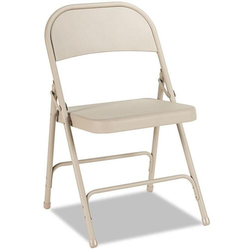 Our Alera® Steel Folding Chair - Tan - 4/Carton is on sale now.