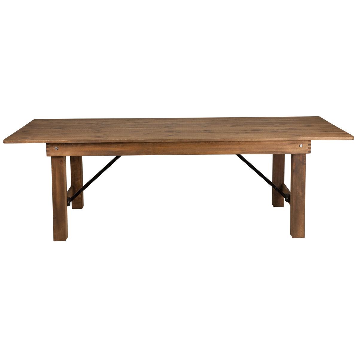 8 X40 Quot Folding Farm Table Xa F 96x40 Gg