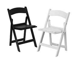 ... Resin Folding Chairs ...