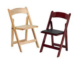 ... Wood Folding Chairs ...