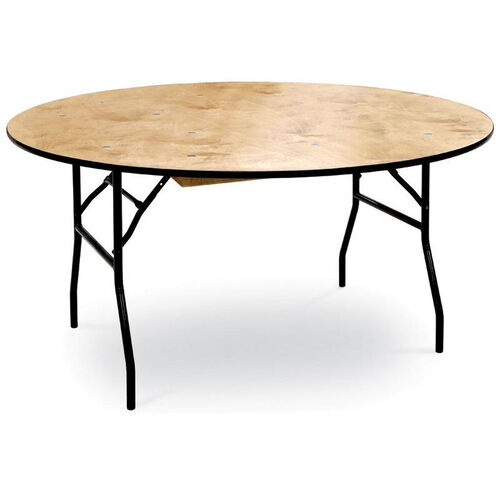 Our Round Plywood Folding Table with Locking Wishbone Style Legs is on sale now.