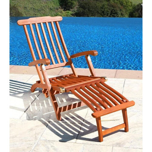 Our Malibu Outdoor Wood Folding Steamer Lounge Armchair is on sale now.