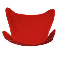 Butterfly Chair Replacement Cover - Red