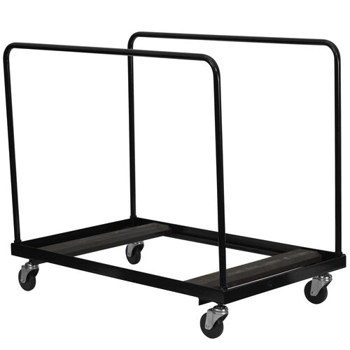 Our Black Folding Table Dolly for Round Folding Tables is on sale now.