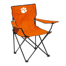 Clemson University Team Logo Folding Quad Chair