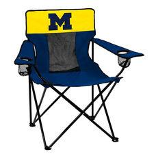 University of Michigan Team Logo Elite Folding Chair