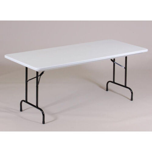 Our Standard Fixed Height Blow-Molded Plastic Anti-Microbial Rectangular Table - 30