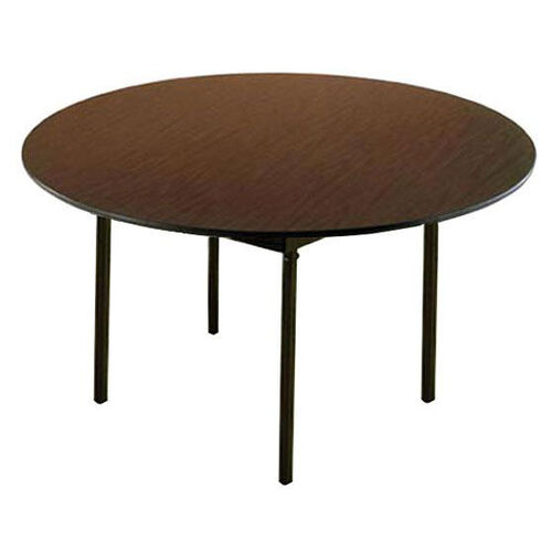 Our Customizable 720 Series Multi Purpose Round Deluxe Hotel Banquet/Training Table with Plywood Core Top - 66